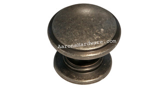 "9669-AIM-D Cabinet Knob Weathered Iron 1 ¼"" Diameter"