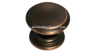 "9669-ACBH-D Cabinet Knob Antique Copper Bronze HiLite 1 ¼"" Diameter"