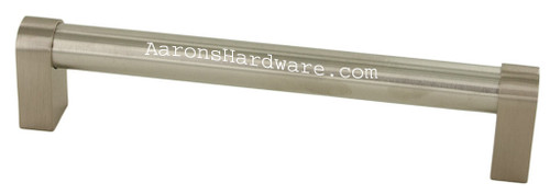9785-128-BSN Cabinet Handle Bar Pull In Brushed Satin Nickel With 128mm 160mm 192mm 320mm and 480mm Hole Spacing