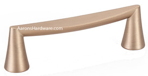 The 2351-1MDB-P cabinet handle with the new color of Modern Bronze and a160mm Hole Spacing will be the focal point of your kitchen.  Beautiful lines and design has made this a great seller as soon as it hit the internet.  Can be mixed with smaller and larger handles as well as the matching knob pull.