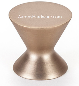 """This 2363-1MDB-P has a color finish of  Modern Bronze.  With a 1 3/16"""" Diameter it is great for doors and drawer fronts alike.  Can be used alone on all your doors or can be mixed with the handles of all the lengths in the collection."""