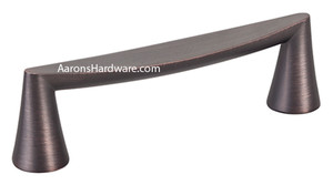 2357-10VB-P cabinet door handle In the Verona Bronze finish.   This larger length has a 320mm Hole Spacing.  Used for doors in the kitchen, bath and furniture along with a mix and match of others in this collection.  Be sure to see the knobs that match these also.