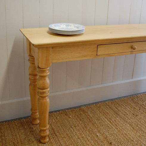 Farmhouse Entry Table - English Pine