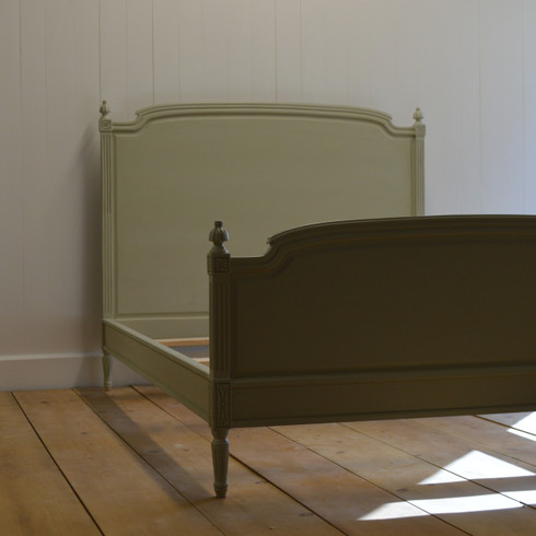 Madeline Bed - Sage Gray