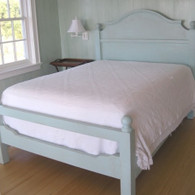 French Farm Bed- Aqua