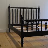 Winona Spindle Bed - Black Walnut