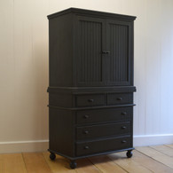 Barrington Armoire - Black Walnut