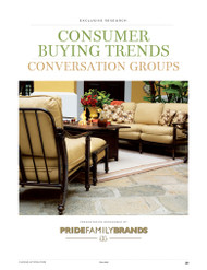 Casual Living's 2013 Consumer Buying Trends:  Conversation Groups