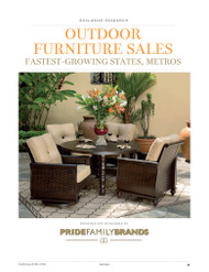 Casual Living's Outdoor Furniture Metro Market Projections, 2013