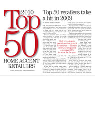 Home Accent Today's Top 50 Home Accents Retailers 2010