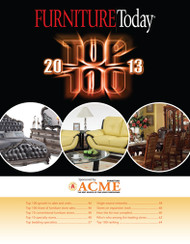 Furniture Today's Top 100 Furniture Stores, 2013