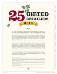 Gifts and Decorative Accessories 25 Gifted Retailers for 2013
