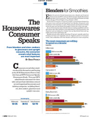 HFN The Housewares Consumer Speaks, 2016