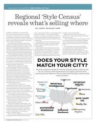 Home Accents Today Regional Style Census, 2016