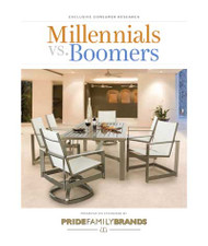 Millennials vs. Boomers Outdoor Living Report