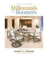Millennials vs. Boomers Outdoor Living Report