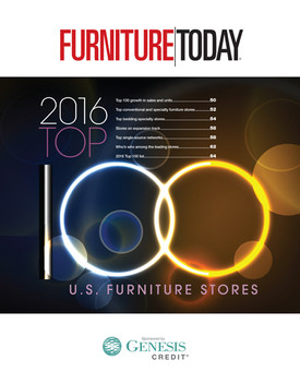 Furniture Today Top 100 Furniture Stores, 2016