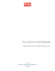 Home Textiles Today Utility Bedding Database, 2016