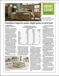 Furniture Today's 2016 Imports / Exports Report