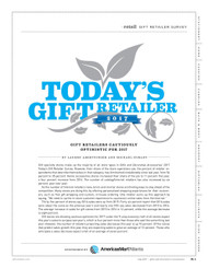 Gifts & Dec Today's Gift Retailer, 2017