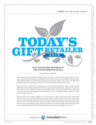 Gifts & Dec Today's Gift Retailer, 2018