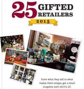 25 Gifted Retailers cover 2015