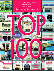 Furniture Today's Top 100 Furniture Stores - 2004