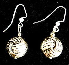#A99 Etched  Distinctive Twisted Silver  Earrings  embellished with an Antiqued Finish Price $25. All Earrings are available in Post, Wire, or Clip on
