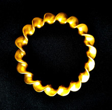 Bracelet Beautiful Vintage Gold Twist Bracelet, Wonderful to wear or gift $75.