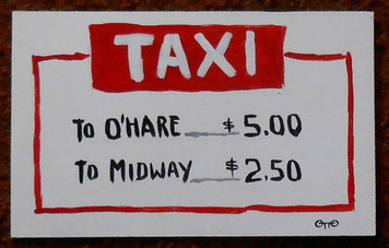 TAXI PRICES to O'hare & Midway Airports by Otto Schneider