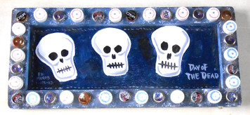 DAY of the DEAD WALL PLAQUE by George Borum