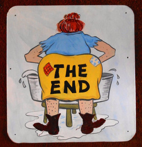 Hillbilly Redneck WASH WOMAN - THE END by George Borum