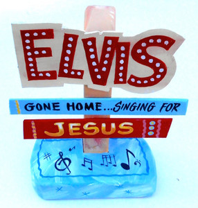 ELVIS is SINGING for JESUS by George Borum