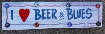 I LOVE BEER & BLUES by George Borum