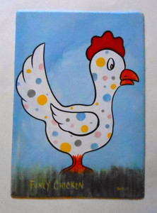 POLKA - DOTTED ROOSTER by George Borum