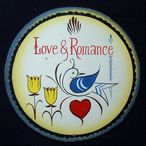 LOVE & ROMANCE PA DUTCH STYLE HEX SIGN by Geo G Borum