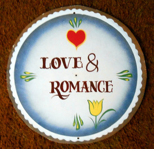Tulips Love & Romance PA DUTCH style HEX SIGN by Geo G Borum