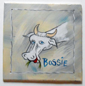 BOSSIE - BOVINE Resident of Possum County™ by Poor Ol' George ™
