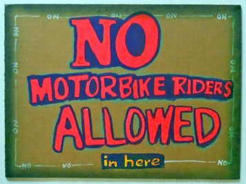 NO MOTORBIKE RIDERS by Jaybird