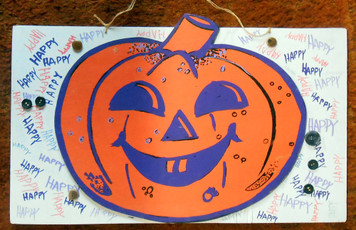 HAPPY HALLOWEEN SIGN by Jaybird