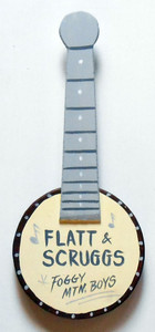 FLATT & SCRUGGS BANJO by George Borum