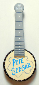 PETE SEEGAR TRIBUTE BANJO by George Borum