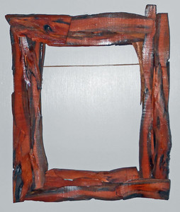 RUSTIC WOOD PICTURE FRAME by Pops Caey