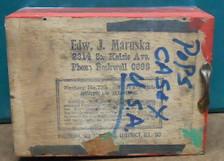 Edw J Maruska - 2314 S Kedzie - Chicago