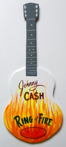 JOHNNY CASH - RING of FIRE GUITAR by George Borum