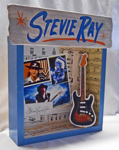 STEVIE RAY VAUGHAN SHADOW BOX by George Borum