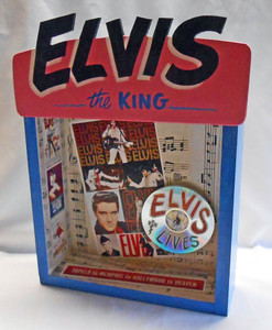 ELVIS PRESLEY TRIBUTE BOX by George Borum