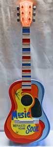 Real 3/4 size DECORATED GUITAR by George Borum