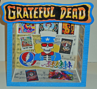 GRATEFUL DEAD SHADOW BOX by George Borum