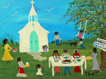 FAMILY REUNION - BLACK ART  by p Ford